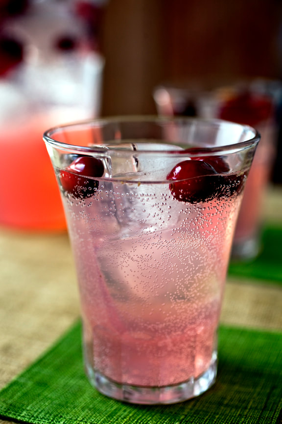 mocktail, cranberry, holiday, food, food style, chef